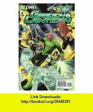 Green lantern #2 the new 52 dc comics 1st printing geoff johns.