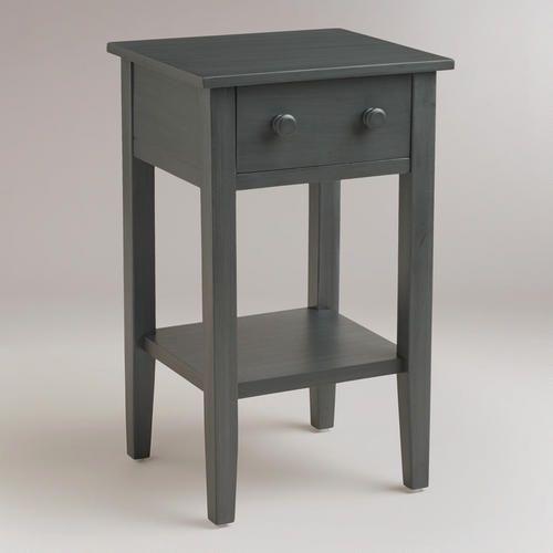 Cost Plus Furniture Sale: Tobacco Blue Sara Nightstand (World Market $59.99 On Sale