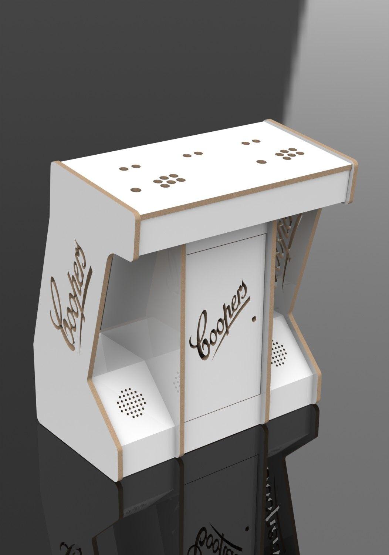 2 Player Pedestal - Arcadeworx | Diy arcade cabinet ...