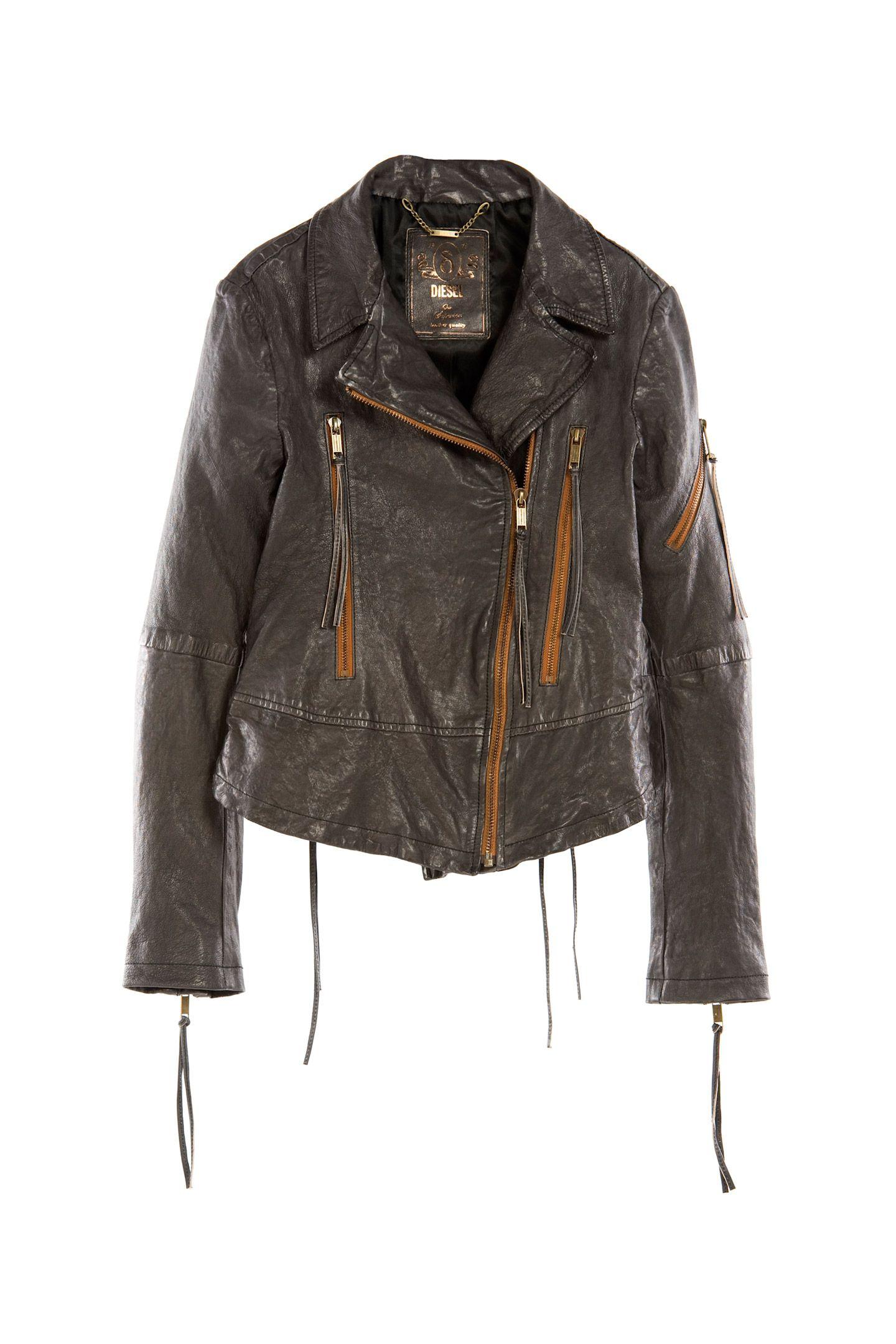 Diesel Collection L Nix Leather Jacket Elle Fashion Fashion [ 2160 x 1440 Pixel ]