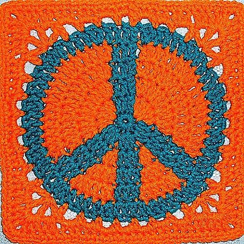 Ravelry Peace Sign Granny Square Pattern By American Notation