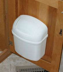 Camco 43961 Wall Mount Rv Trash Can Trash Can Trash Camco