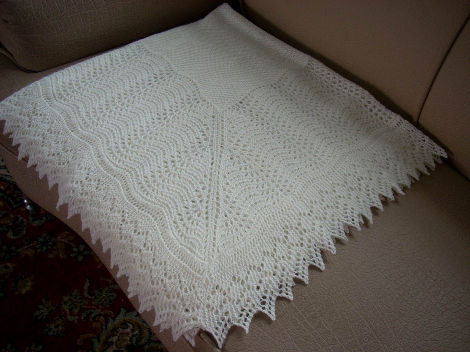 knitting patterns for baby blankets | Coming back to the ...