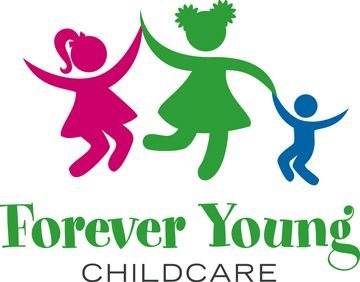 Forever Young Childcare Logo Design For Child Care And Learning Center