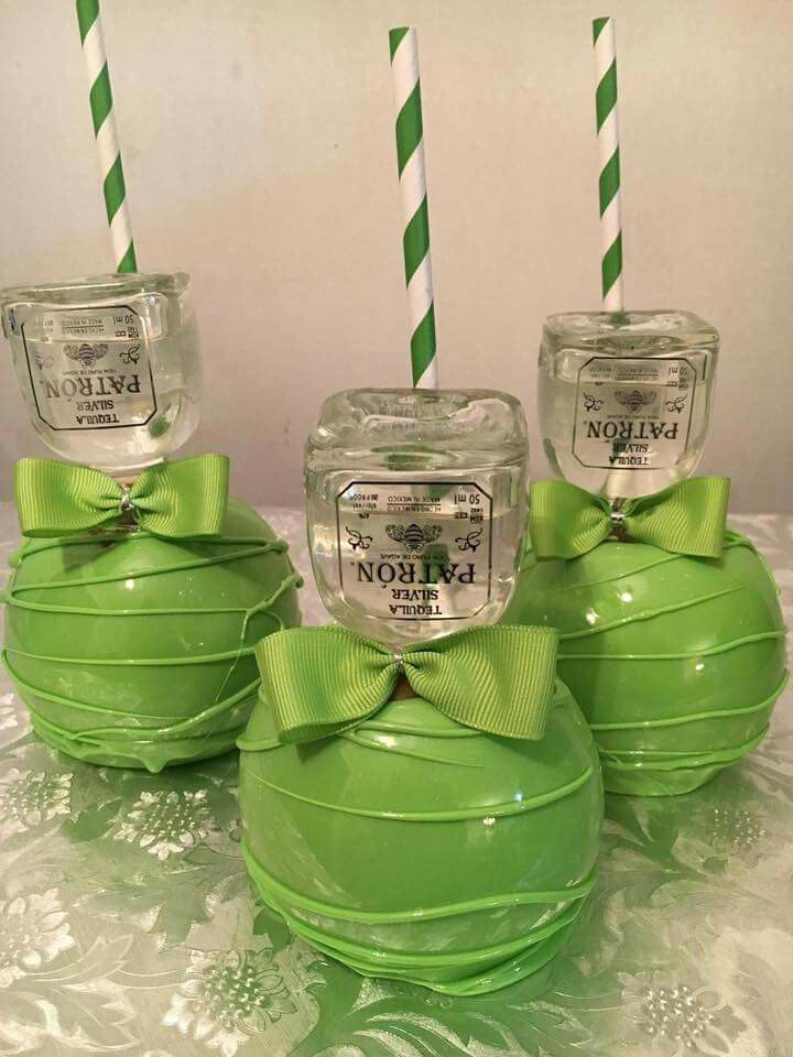 Drunkin Patron Apples 21 Gourmet Candy Apples Candy