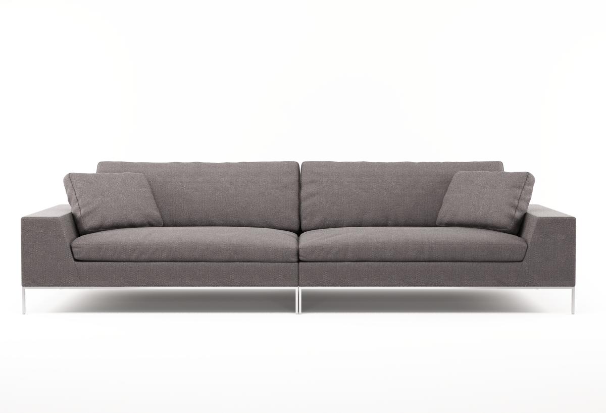 Designer Sofa Stoff - design bild