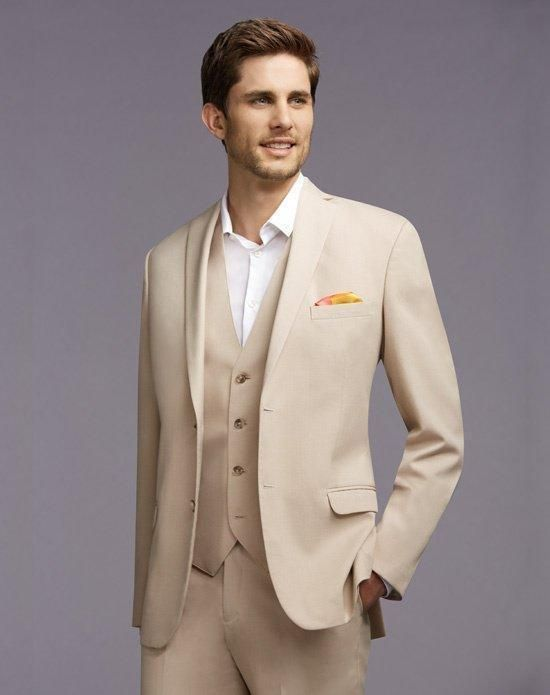 Custom Made New Arrival Groom Tuxedos Notch Lapel Men'S Suit Champagne Groomsman/Best Man Wedding/Prom SuitsJacket+Pants+Vest Nice Tuxedos Prom Suits Ideas From Cookyshop, $81.41| Dhgate.Com