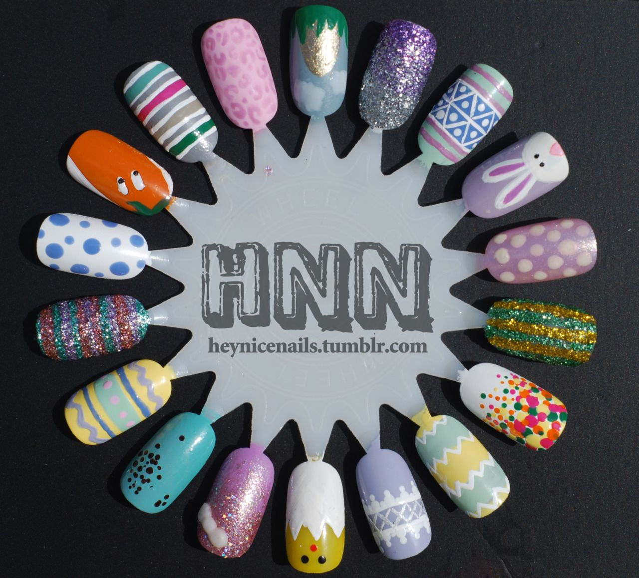 Our Spring Nail Polish Palette Includes China Glaze Agent Lavender Model S Own