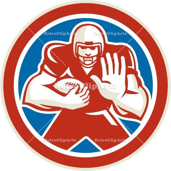 american football, artwork, ball, blocker, circle, defense, fend, fend off, fending, football, graphics, gridiron, headgear, illustration, i...