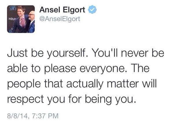I love Ansel :)