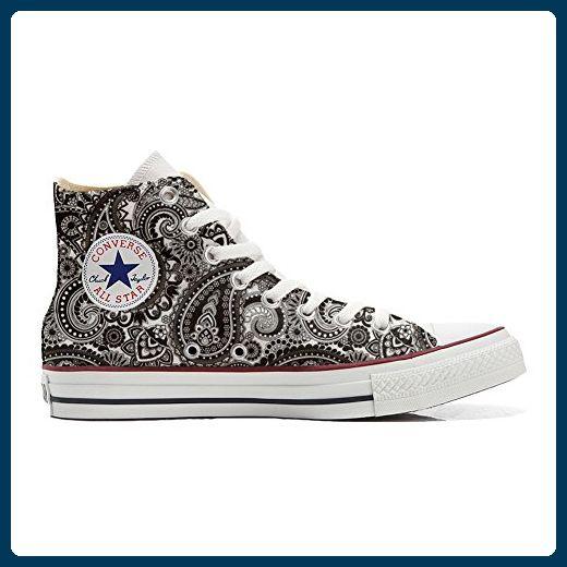 Converse All Star Low Customized personalisierte Schuhe (Handwerk Schuhe) Slim Brooklyn