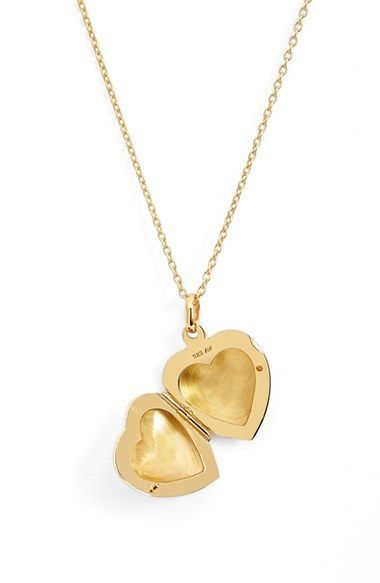 Argento Vivo Heart Locket Pendant Necklace available at #Nordstrom but silver!