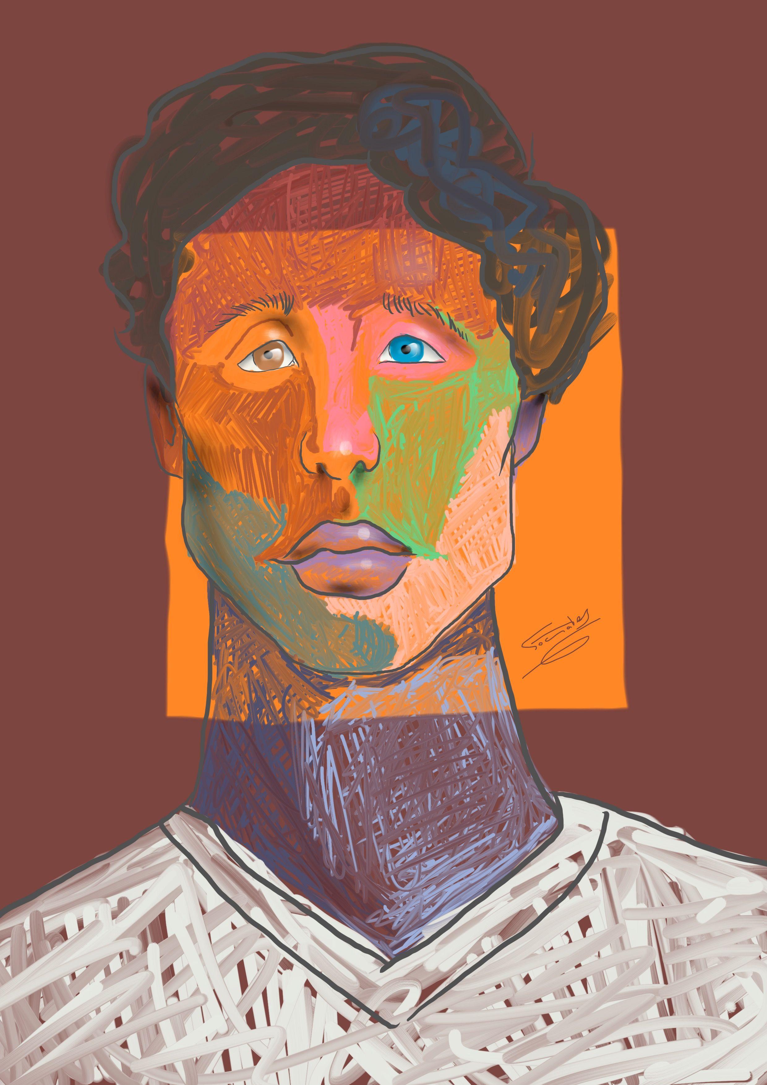 retrato de sexta