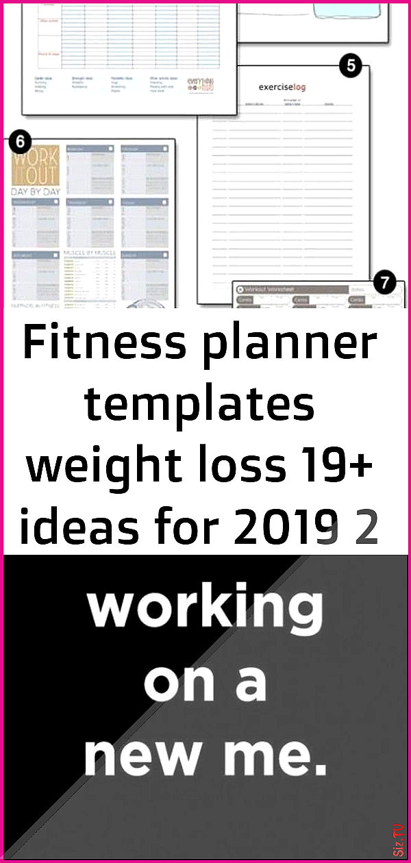 Fitness planner templates weight loss 19 ideas for 2019 2 Fitness planner templates weight loss 19 i...