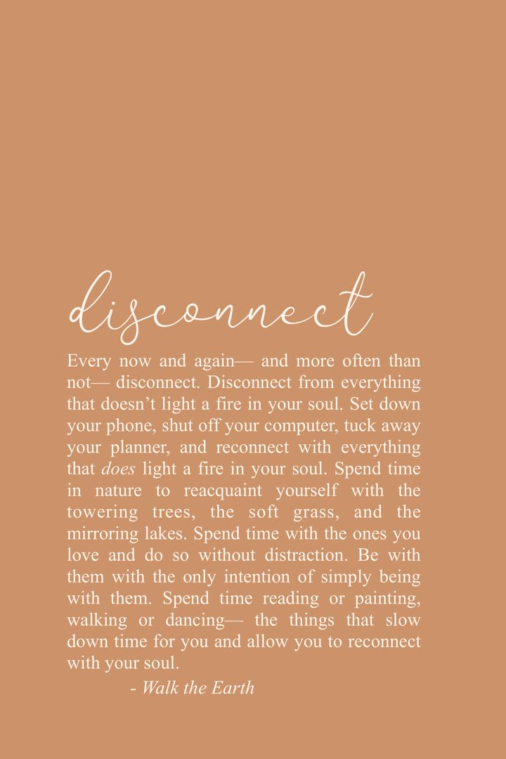Connect to nature quotes, inspiring soul quotes, poetry, words. Disconnect & reconnect