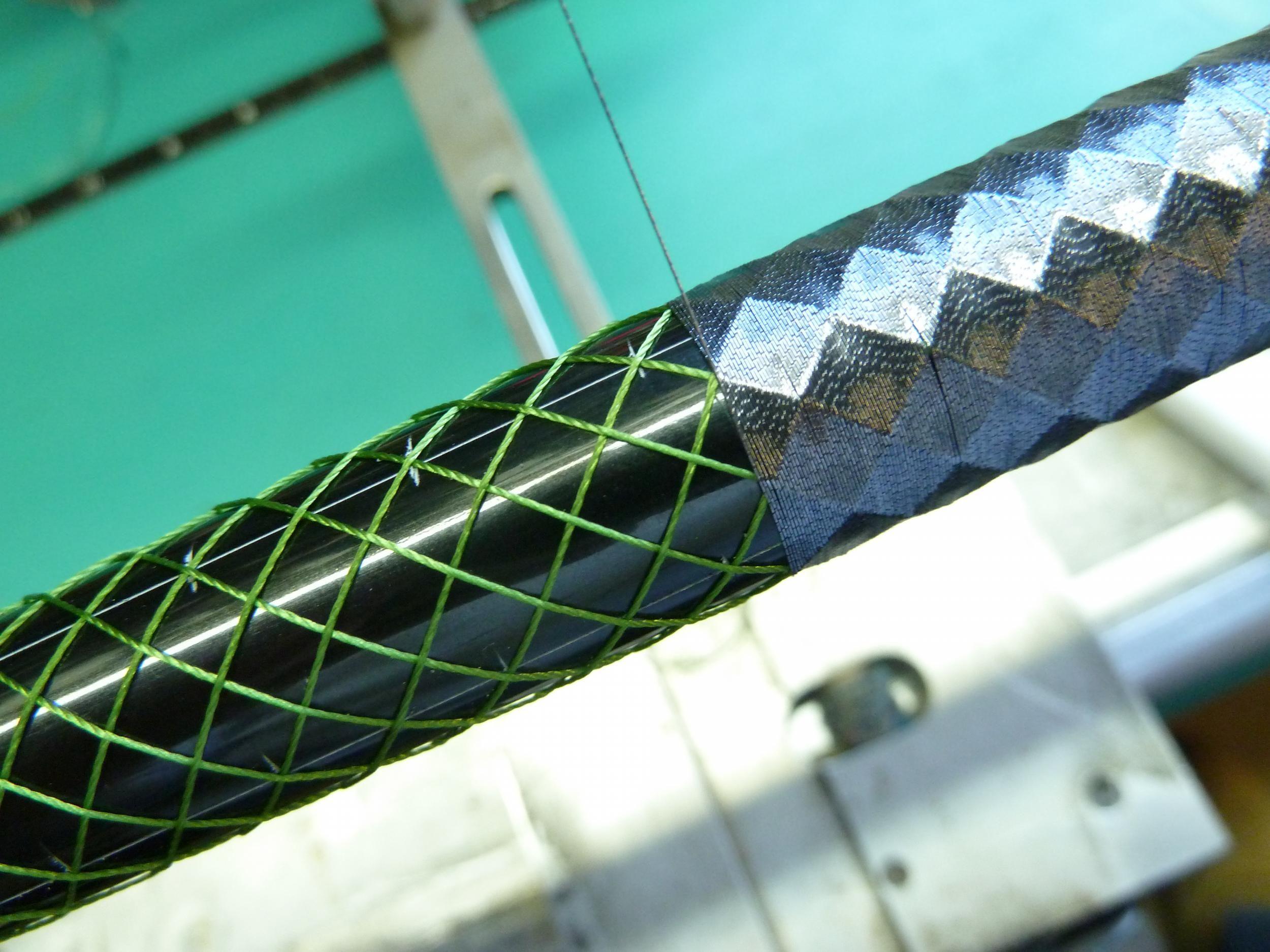 Dragon scale wrap howto fishing pinterest dragon for Fishing rod wraps