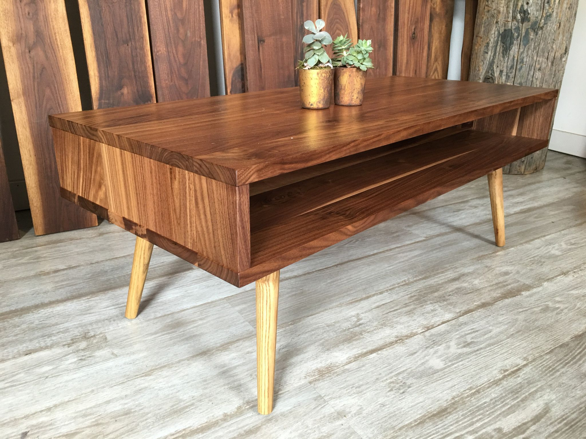 898dcf4c60be Classic Mid Century Modern Coffee Table