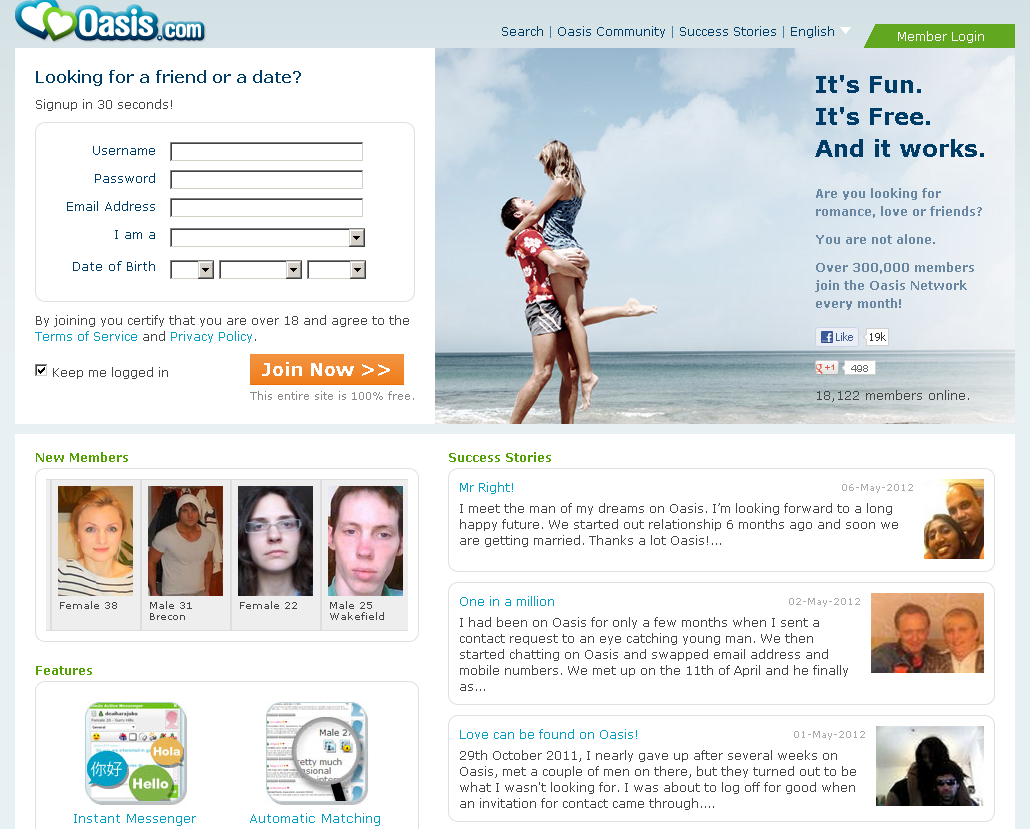 Search dating sites without signing up