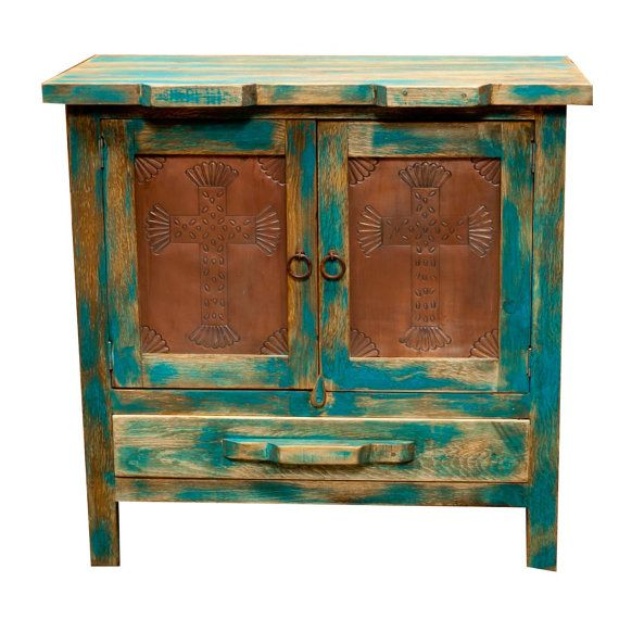 Rustic Mexican Vanity By Morenosrustics On Etsy, $450.00