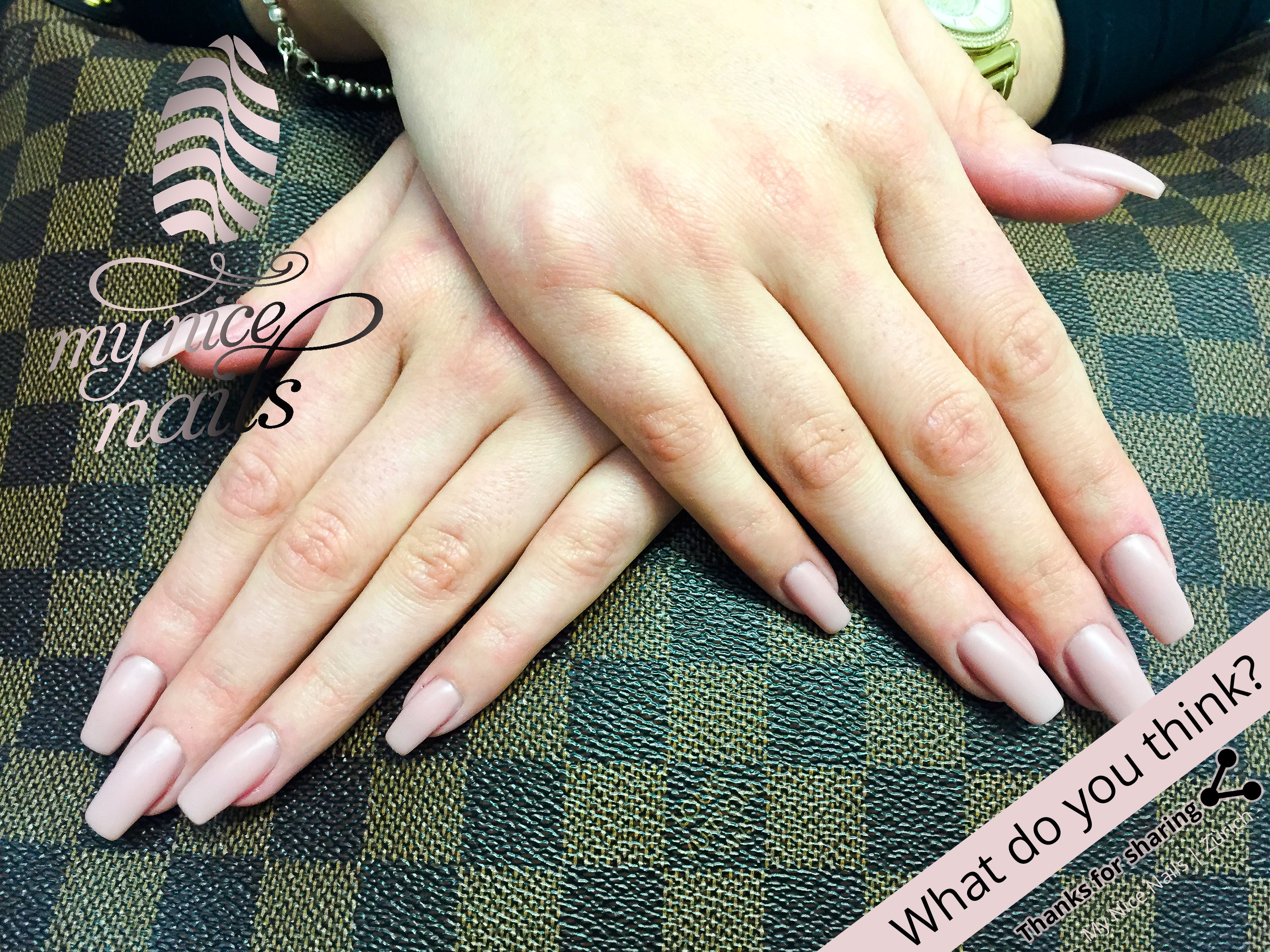 Matte Look Nude – Nail Design | Nail Art by My Nice Nails ...