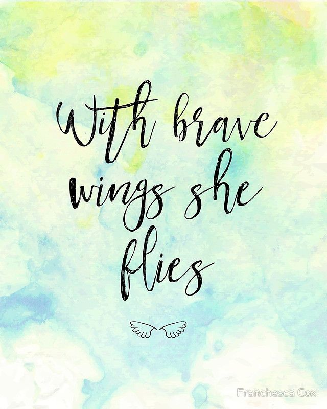 With brave wings she flies Photographic Print by Franchesca Cox
