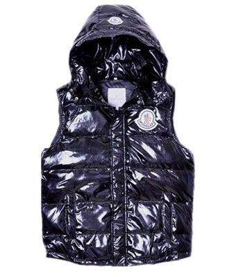 Moncler Down Vest Women Short Sleeveless Button Hat Black | Fashion |  Pinterest | Canada goose parka, Moncler and Barbour women