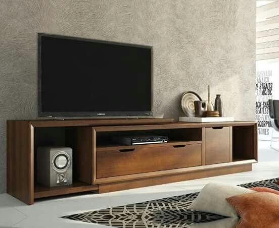 Aparador para sala tv com rack centros de - Modulos para televisores ...