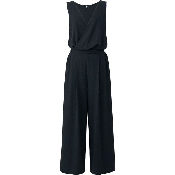 121ac2017aa UNIQLO Women s Cache Coeur Jumpsuit ( 30) ❤ liked on Polyvore featuring  jumpsuits