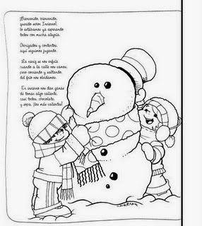 El Rincon De La Maestra Jardinera Poesias Del Invierno Poesia Invierno Poemas De Invierno Invierno
