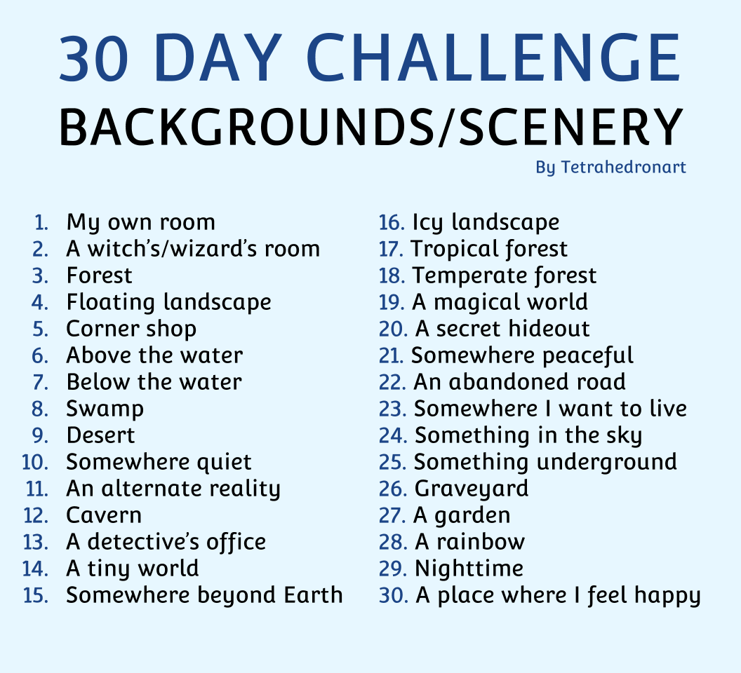 Happy July Everybody I Mentioned That I Wanted An Art Challenge To Give Myself A Goal Toward Improvement Art Challenge Drawing Challenge 30 Day Art Challenge