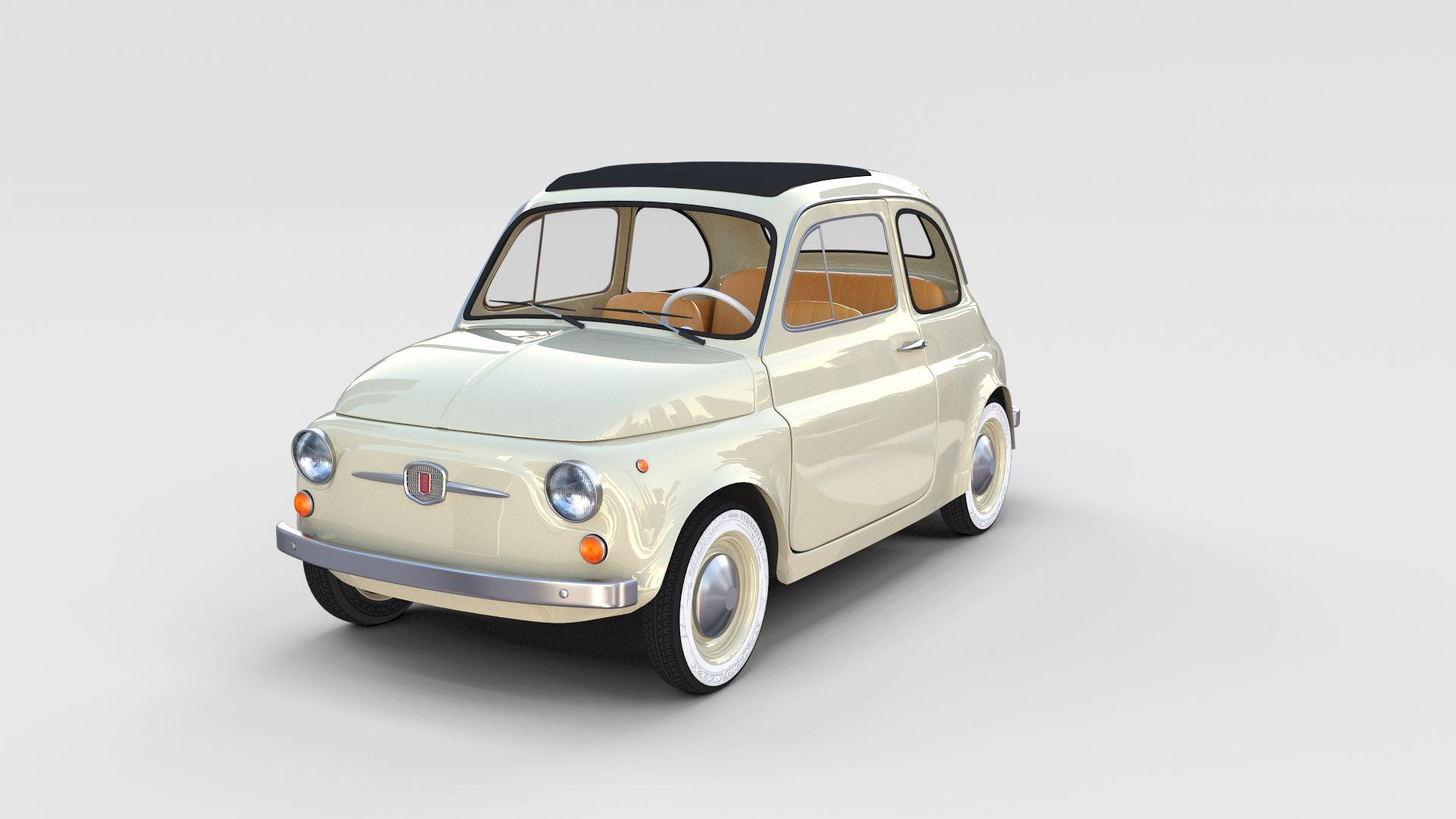 Fiat 500 With Interior Pack Fiat Pack Interior Fiat 500