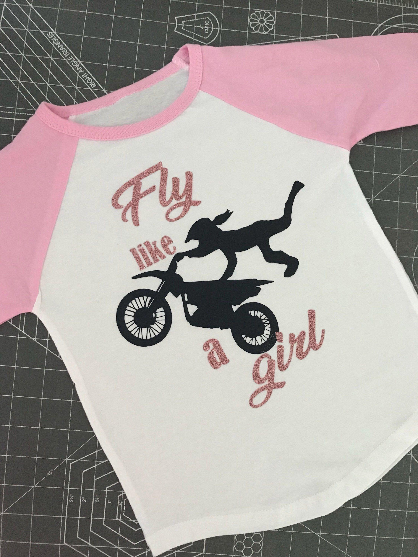 Dirt bike kids toddler shirts girlie dirtbike rider boys dirtbike