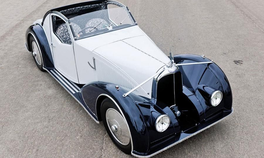 1934 Voisin C27 Aerosport front 34 view. A famous French