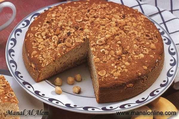 كيك الموز منال العالم Cake Desserts Desserts Food