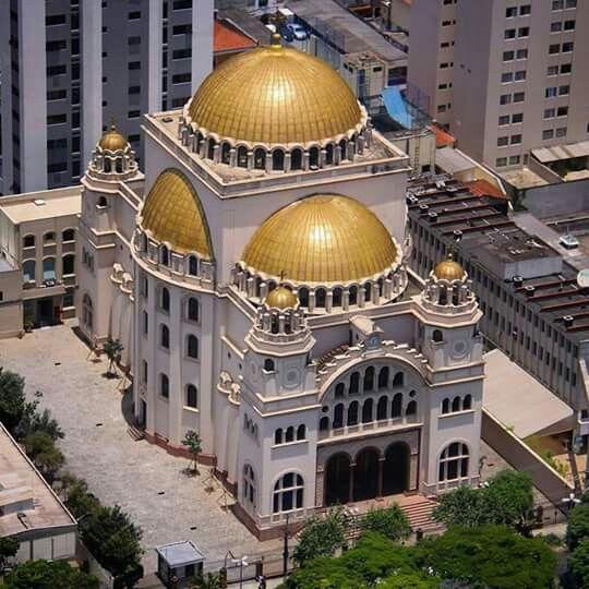 Catedral Metropolitana Ortodoxa De São Paulo Catedral São Paulo Igreja Ortodoxa
