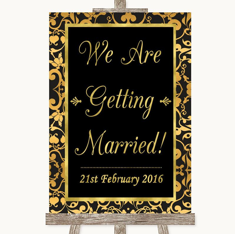 Olive Green Damask Welcome To Our Wedding Personalised Wedding Sign