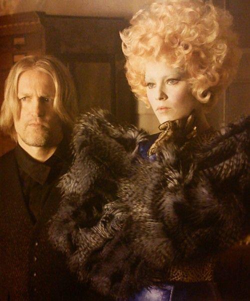 Effie and Haymitch