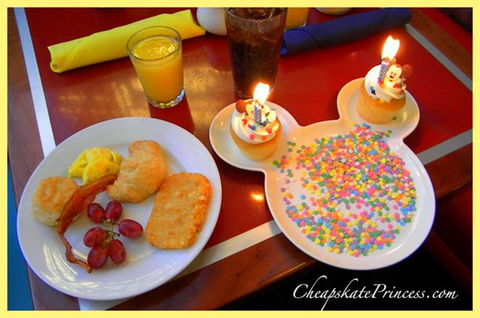 Celebrating Birthdays at Walt Disney World with FREEbies A