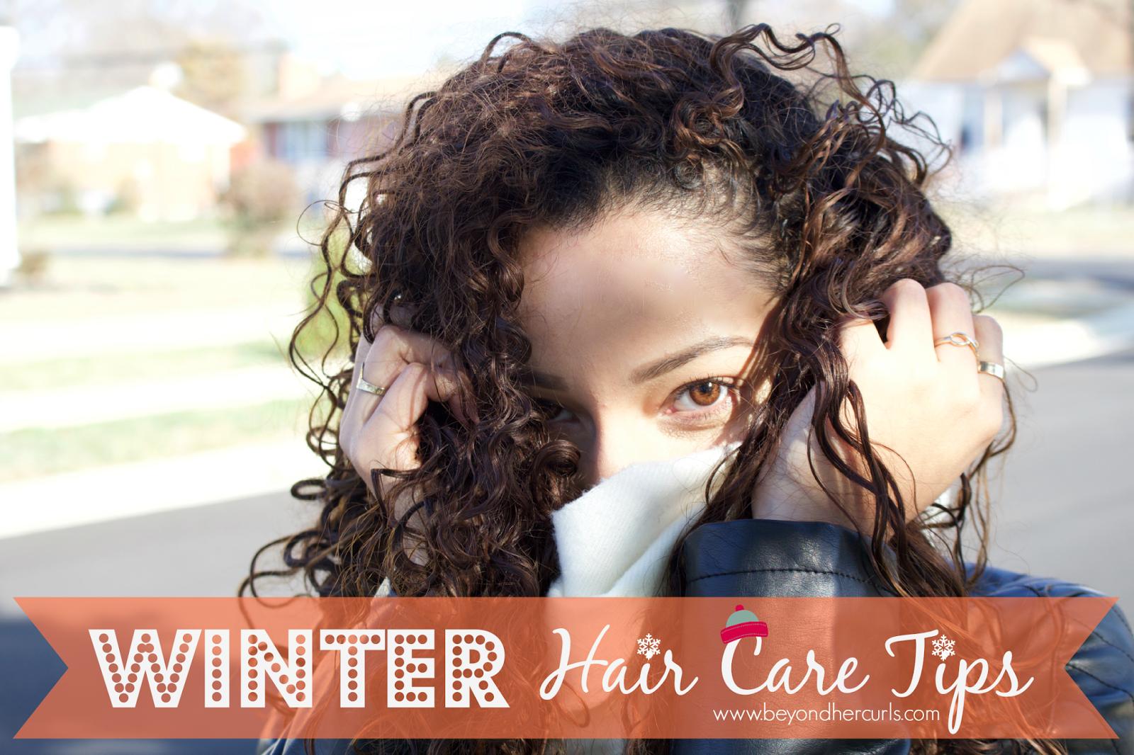 Curly Hair Diaries Winter Hair Care Hair care, Winter