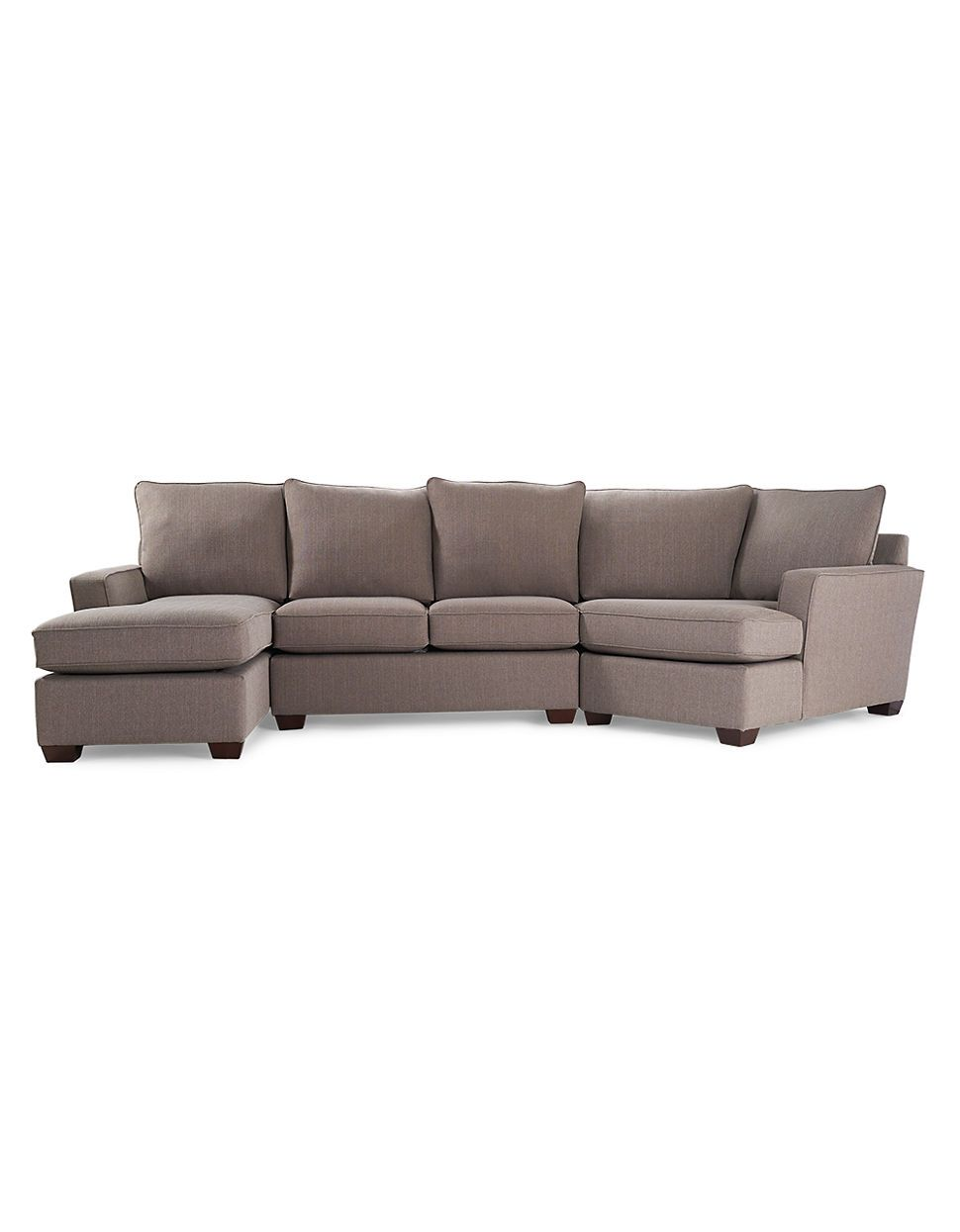 Home Sofas Camden Sectional With Track Arm Hudson S
