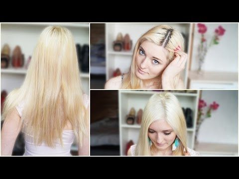 Haare blond gefarbt jetzt gelbstich