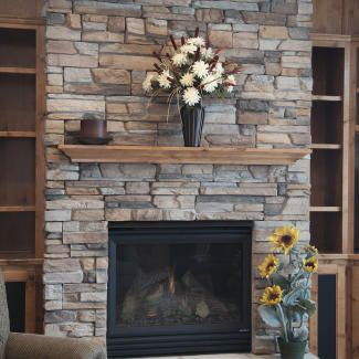 Like the color combination with our various wood choices and slate stone.