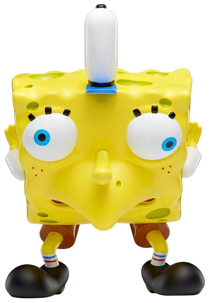 Nickelodeon Masterpiece Memes Mocking Spongebob Vinyl Figure Multi In 2021 Mocking Spongebob Spongebob Mocking Spongebob Meme