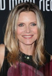 michelle pfeiffer aging gracefully | Michelle Pfeiffer Looks Amazing at 55.  Rocking that stringy hair.  Love her.