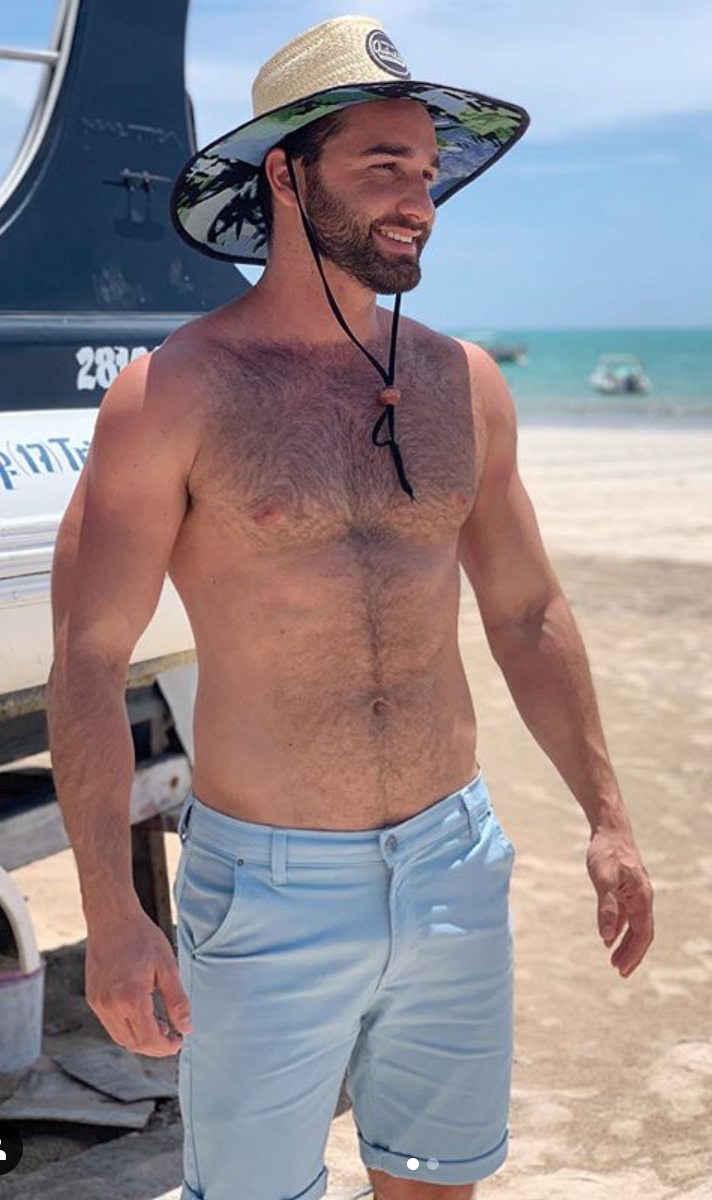 Pin on hot hairy guys with facial hair