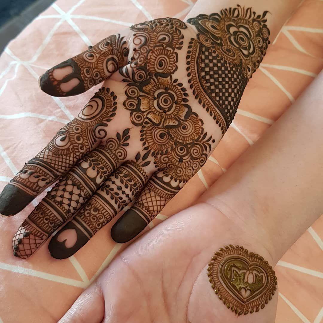 simple full hand mehndi designs gallery