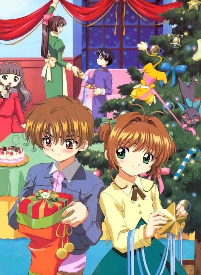 Navidad! e.e'' | Cardcaptor sakura, Anime christmas, Cardcaptor