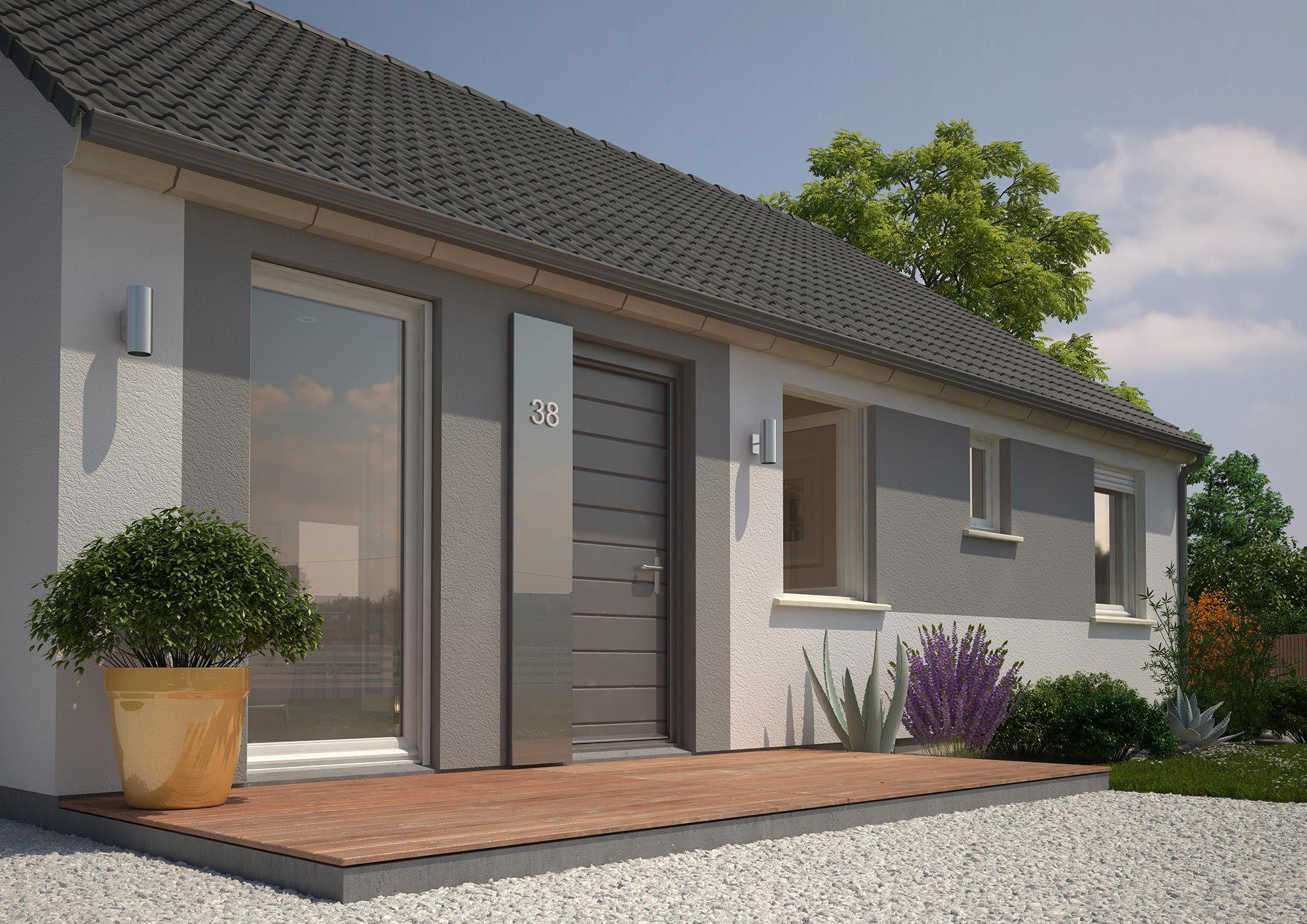 Facades De Maisons En Couleurs facade | façade maison, crepi maison, couleur façade maison
