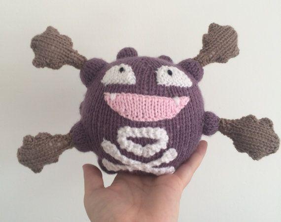 Knitting Pattern for Bulbasaur Pokemon - Bulbasaur pokemon ...   452x570