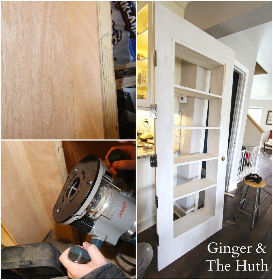 DIY Bookshelf Door Bookshelves diy, Diy bookshelf door